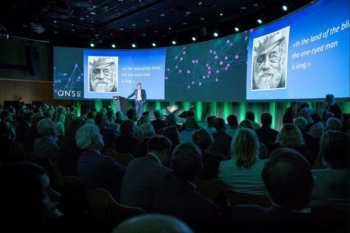 At ONS 2018 you can see 550 top-notch speakers on seven different conference arenas. Foto: ONS